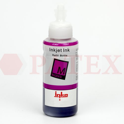 Inko Чернила для Canon iP4600, 4840, MP540, MX860 (CLI-426, CLI-521 (L-type флакон,100 мл.), Magenta Чернила Inko для Canon (Кэнон) iP4600, 4840, MP540, MX860 (CLI-426, CLI-52, (L-type флакон,100 мл.), Magenta