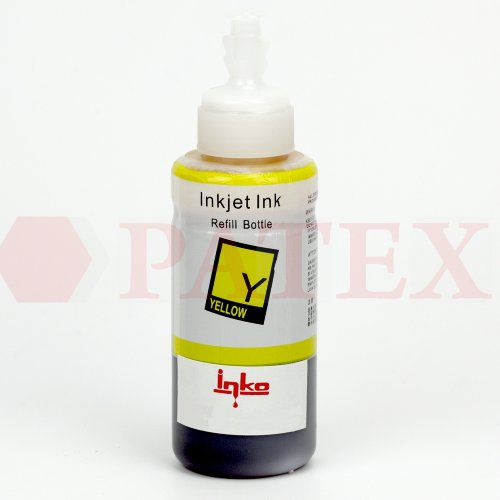 Inko Чернила для Canon iP4600, 4840, MP540, MX860 (CLI-426, CLI-521, (L-type флакон,100 мл.), Yellow Чернила Inko для Canon (Кэнон) iP4600, 4840, MP540, MX860 (CLI-426, CLI-521, (L-type флакон,100 мл.), Yellow