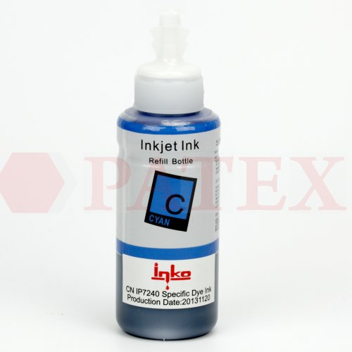 Inko Чернила для Canon iP7240, iX6840, MX924, MG6440 (CLI-451), (L-type флакон,100 мл.), Cyan Чернила Inko для Canon MG6440, iP7240, iX6840, MX924 (CLI-451), (L-type флакон,100 мл.), Cyan